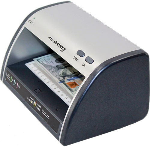 2-AccuBANKER LED420 tester banknotów