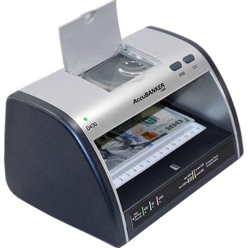 2-AccuBANKER LED430 tester banknotów