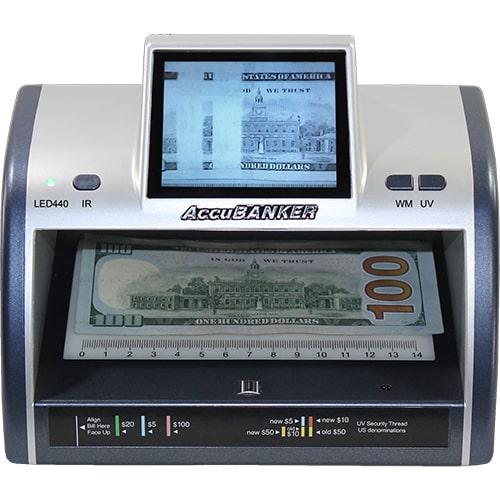 1-AccuBANKER LED440 tester banknotów
