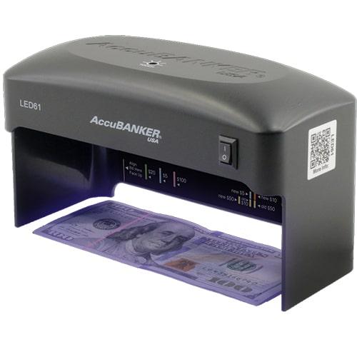 1-AccuBANKER LED61 tester banknotów